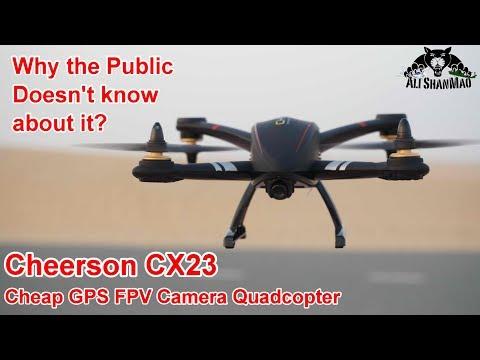 Cheerson CX23 Amazing Nice Cheap GPS FPV Camera Quadcopter - UCsFctXdFnbeoKpLefdEloEQ