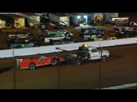 48 602 Late Models | Qualify | 4 Heats | 4 B-mains | $5,000 Feature  follow us on facebook https://www.facebook.com/pages/Speedway-Videos/208823702549862?ref=hl  All graphics ,video, photography are property of Richard Ford to use this video in a commercial player, advertising or in broadcasts, please email flipper-13@comcast.net for permission - dirt track racing video image