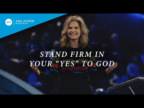 Stand Firm In Your
