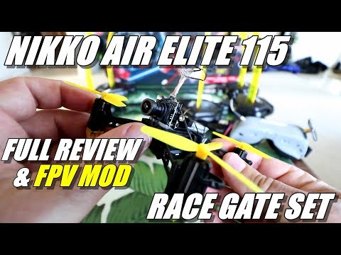 Nikko Air Elite 115 Drone Racing Set Review & FPV Mod - Full Review - Unboxing, Flight Test, FPV Mod - UCVQWy-DTLpRqnuA17WZkjRQ