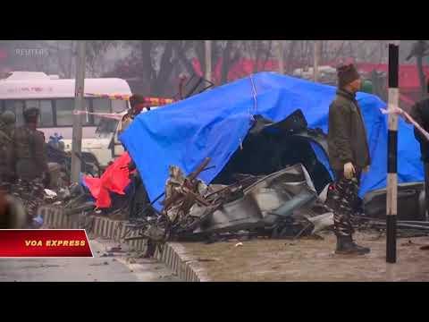 Kashmir: Đánh bom tự sát, ít nhất 30 cảnh sát Ấn thiệt mạng (VOA)