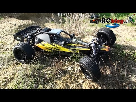 Yellow RC 1:8 Dune Racer XL video review (NL) - UCXWsfadxZ1qM0HKuPOx1ptg
