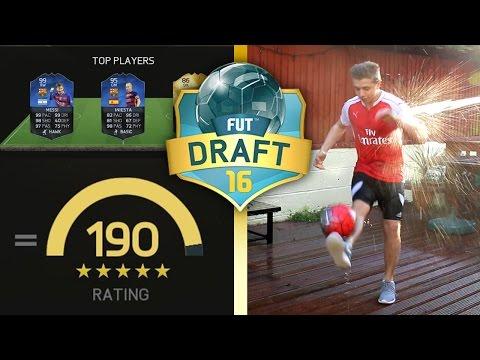 FIFA 16 - WINNING THE DRAFT WITH A 190!? - UCQ-YJstgVdAiCT52TiBWDbg