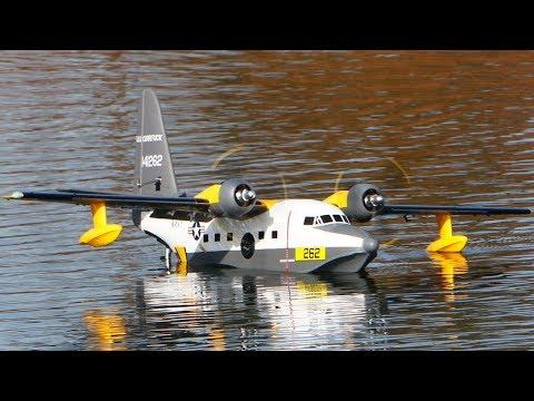 Hobbyking Avios Grumman ALBATROSS 1620mm at Wiser Lake! - UCLqx43LM26ksQ_THrEZ7AcQ