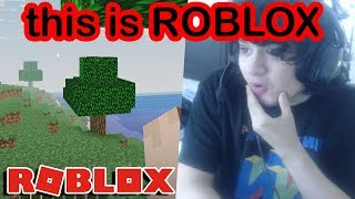the INSANE minecraft remake is back on roblox...
