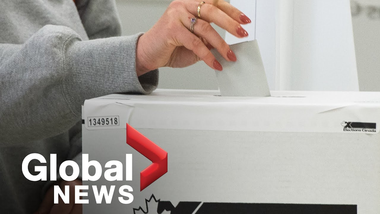 Canada election: Leaders hope to sway voters in final push before election day