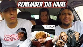 Ed Sheeran - Remember The Name (feat. Eminem & 50 Cent) REACTION REVIEW