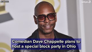 Dave Chappelle set to host benefit concert for Dayton shooting victims