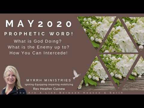 PROPHETIC WORD FOR MAY 2020 - GOOD NEWS IS GOD NEWS!