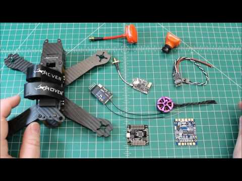 """Xhover Element 5"""" FPV Race Frame Buildout Part 1 - UCGqO79grPPEEyHGhEQQzYrw"""