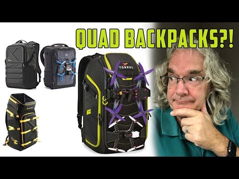 FPV Backpack...which one to buy?! - Torvol Quad Pitstop backpack Review #CaptainMavic - UCyZkiSF3WSIsO1XgCH1X8Jw