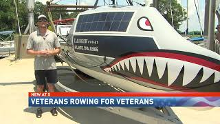 NBC 15 WPMI- Veterans prepare to row across Atlantic Ocean, in a mission to help other veterans
