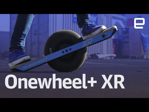 Onewheel+ XR hands-on at CES 2018 - UC-6OW5aJYBFM33zXQlBKPNA