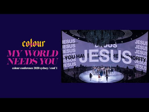 My World Needs You  Colour Conference 2020 - Sydney Item