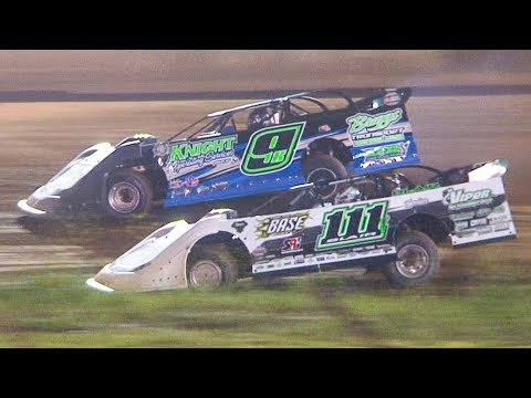 Super Late Model Feature | Eriez Speedway | 7-18-21 - dirt track racing video image