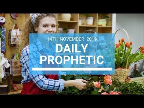 Daily Prophetic 14 November Word 1