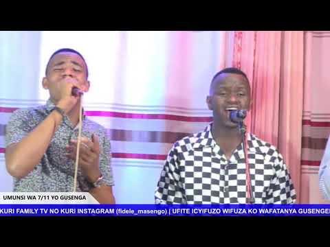 FOURSQUARE  IMINSI 11 YO GUSENGA - UMUNSI WA 7  HAMWE NA BISHOP DR. FIDELE MASENGO