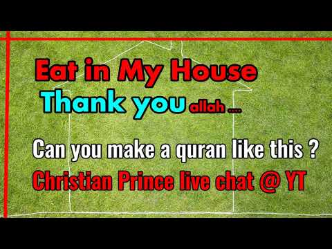Scholars Challenge..Can you make a verse like this? Christian Prince Live Chat