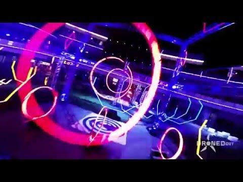 Drone Flies Through Insane Obstacle Course | Neon Lights - UC6p-67cV5zU1KsepeY29v3g