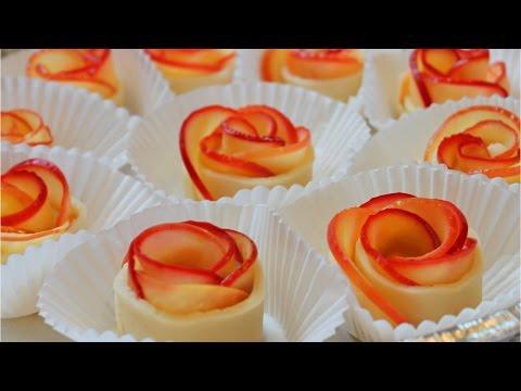 How to Make Apple Rose Tart / Valentine's rose