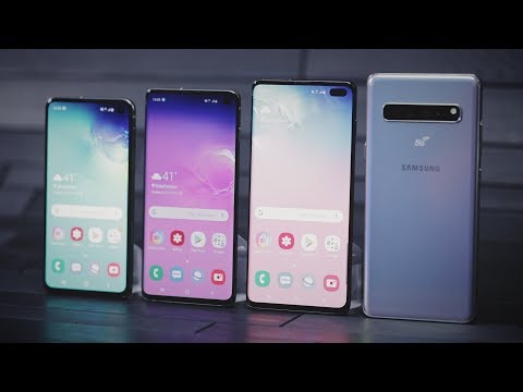 Samsung's Galaxy S10 lineup arrives with four new models - UCCjyq_K1Xwfg8Lndy7lKMpA