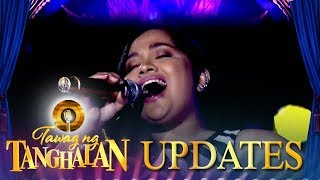 Rica Mae Maer shares her preparation to defend the golden microphone | Tawag ng Tanghalan Update