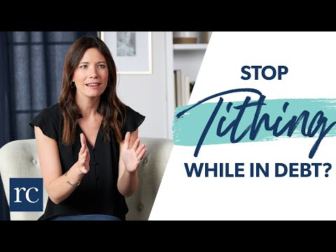 Should You Stop Tithing While in Debt