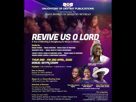 Women in Ministry Online Retreat
