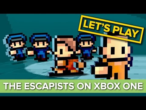 Let's Escape Prison in The Escapists on Xbox One - Escapists Xbox One Gameplay - UCKk076mm-7JjLxJcFSXIPJA