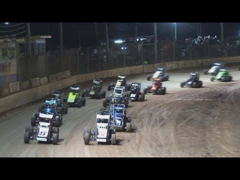 2008/09 Queensland Speedcar Title (Night 2): Maryborough Speedway   12th April 2009 - dirt track racing video image