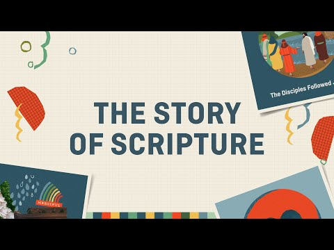 The Story of Scripture - Hand Motion Music Video