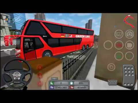 Bus Simulator Indonesia #BUSSID Fast Driving !