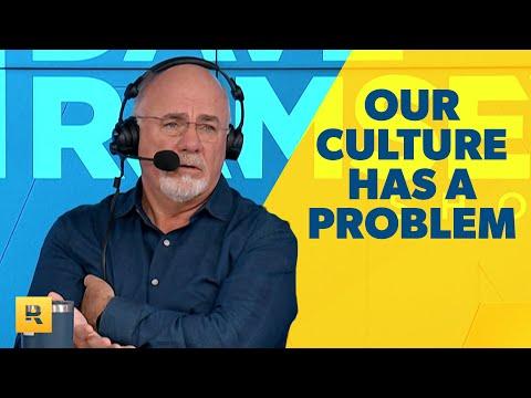 Our Culture Has a Problem...