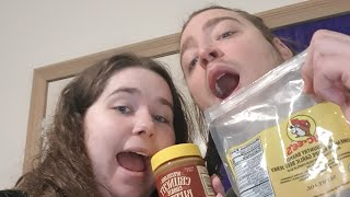 An Australian and an American (New Yorker) Try Texas Delicacies! 🇨🇱 | Lil Ms Nat | FUNNY!!!