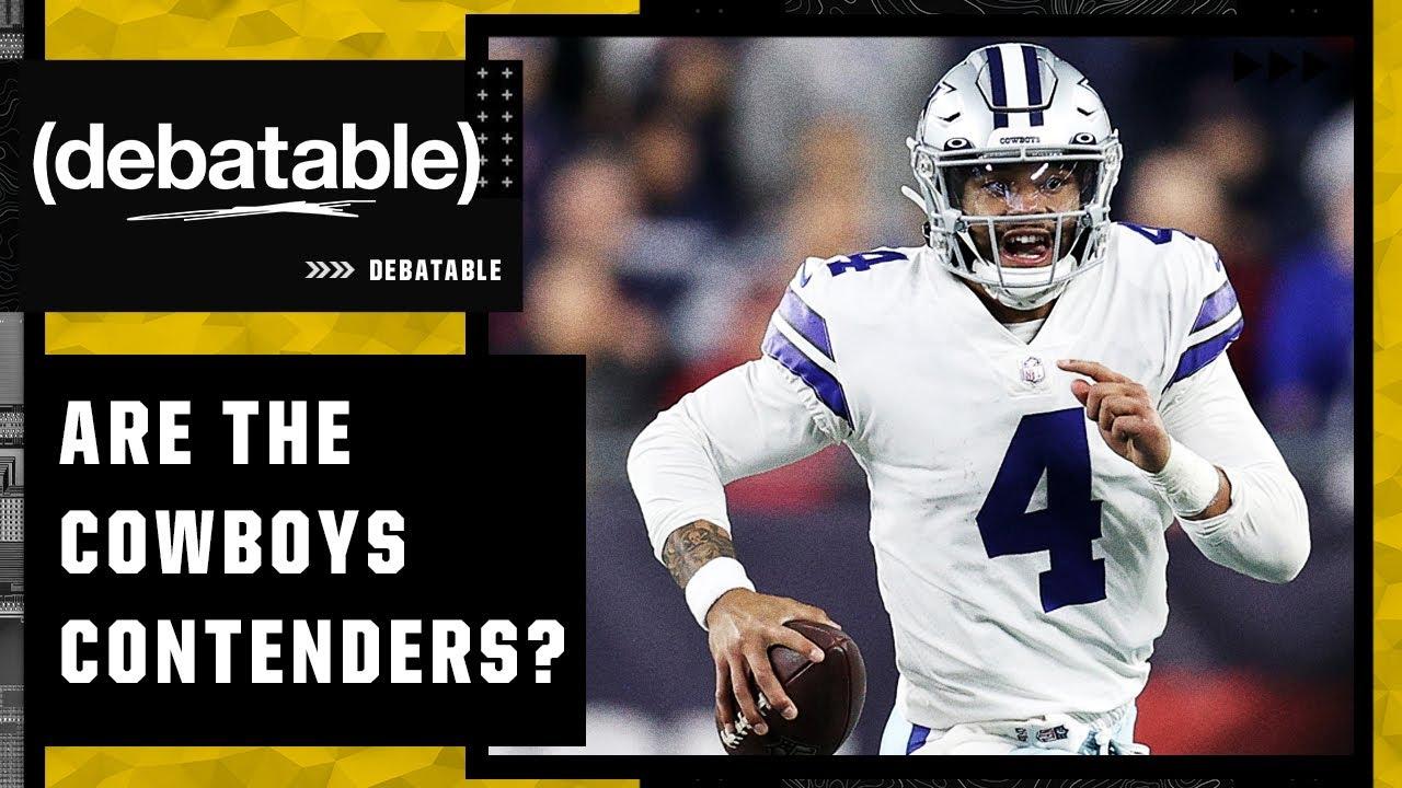 Are the Cowboys legitimate Super Bowl contenders? | (debatable)