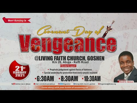 ENGAGING THE POWER OF FAITH FOR FULFILMENT OF PROPHECY.PT. 3C  3RD SERVICE  FEBRUARY 21, 2021