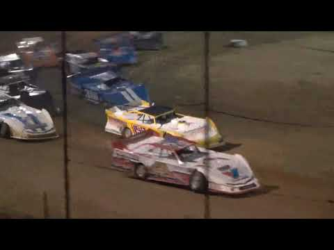Super Late Model A-Main from Moler Raceway Park, August 20th, 2021. - dirt track racing video image