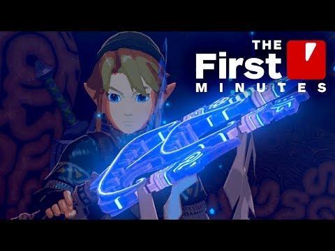 The First 15 Minutes of Zelda Champions' Ballad DLC - default