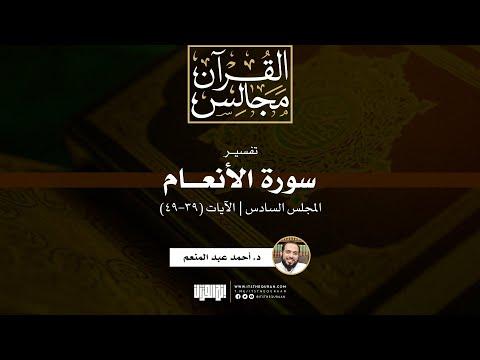 تفسير سورة الأنعام (٦) | ٣٩-٤٩