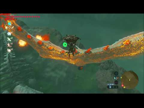 BotW EASY All Dragons Farming Strats Shard of Naydra Farosh Dinraal Horn - Zelda Breath of the Wild - default
