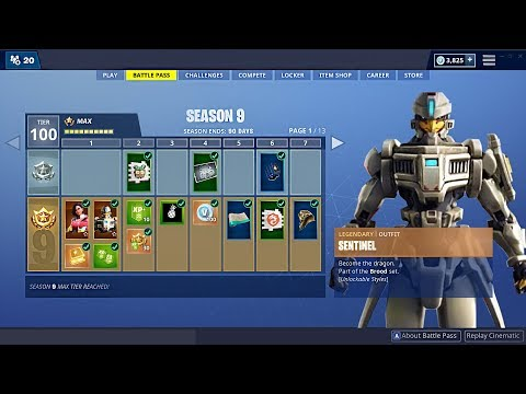 Fortnite SEASON 9 New BATTLE PASS, Map & Skins! (Fortnite Battle Royale) - UC2wKfjlioOCLP4xQMOWNcgg