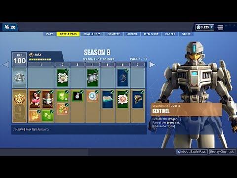 Fortnite SEASON 9 New BATTLE PASS, Map & Skins! (Fortnite Battle Royale) - UC2wKfjlioOCLP4xQMOWNcgg