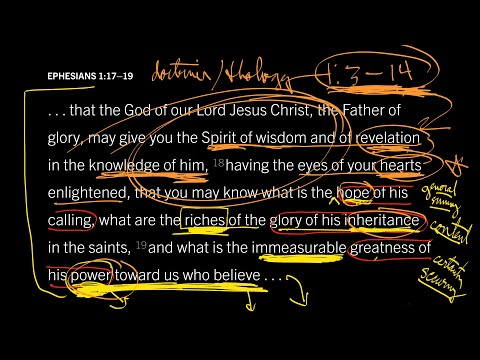 Ephesians 1:1719 // Part 7 // How Prayer Opens the Eyes of Our Hearts