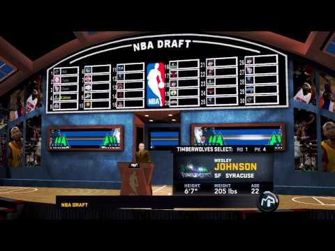 NBA 2K11 My Player - The Draft!!! - default