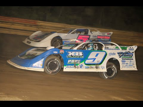 """The $2,000 to win """"Battle on the Hill 30"""" from the Hilltop Speedway near Millersburg, Ohio on May 30, 2020. www.OVDTR.com - dirt track racing video image"""
