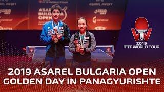 Golden day in Panagyurishte!   2019 ITTF World Tour Bulgaria Open