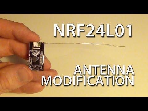 Cheap DIY NRF24L01 Antenna Modification - UCq_Evyh5PQALx4m4CQuxqkA