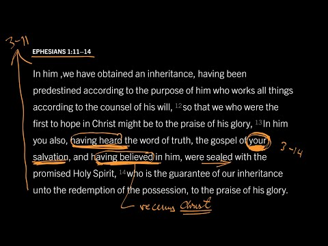 Ephesians 1:1114 // Part 8 // How Do We Win the Elect to Christ?