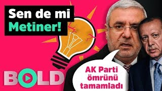 Erdoğan fanatiği Metiner'den şok sözler: ''AKP Finish!''