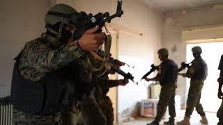Coalition Soldiers Train SDF in Military Operations in Urban Terrrain UNDISCLOSED LOCATION, SYRIA